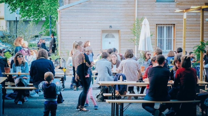 Un beer garden éphémère à deux pas du Canal de l'Ourcq