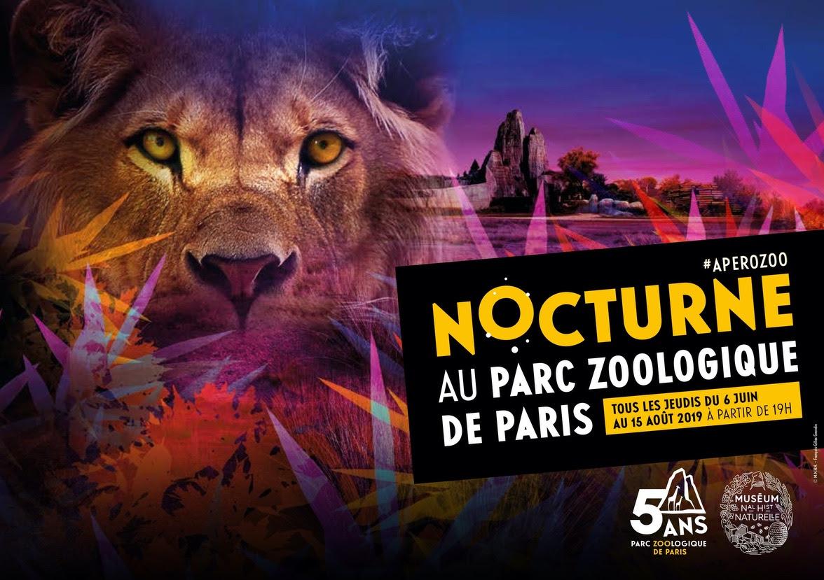 Les afterworks nocturnes du Parc Zoologique de Paris sont de retour