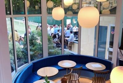 Break, premier restaurant californien à Paris