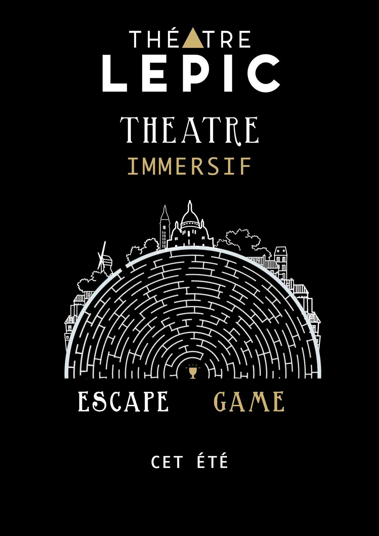 Un escape game dans une salle de théâtre parisienne