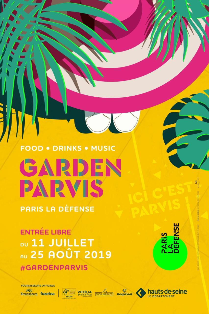 Garden Parvis, le nouveau lieu de vie outdoor éphémère de La Défense