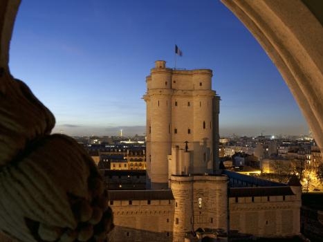 Le Château de Vincennes, témoin de l'architecture médiévale
