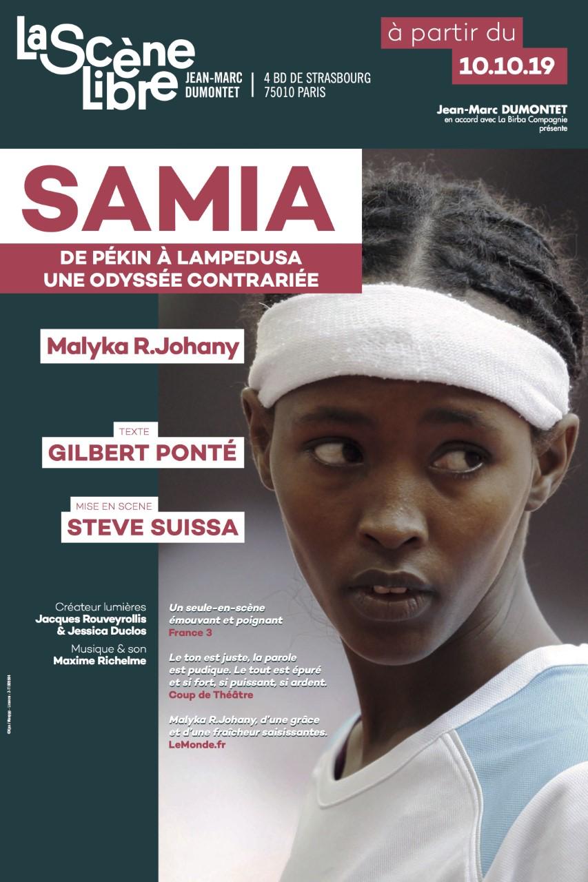 Samia, de Pékin à Lampedusa à La scène libre