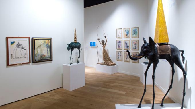Dali Paris, unique lieu consacré à l'oeuvre de l'artiste en France