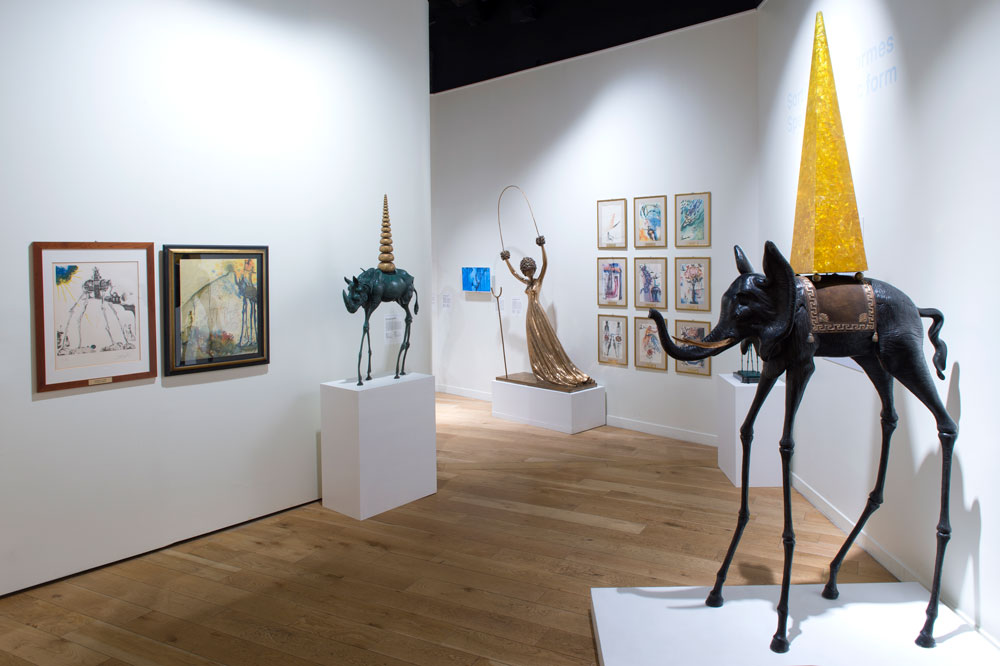 Le Musée Dali, unique lieu consacré à l'oeuvre de l'artiste en France