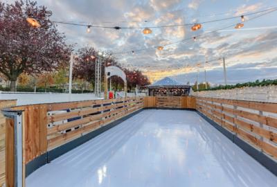 Polpo Nord ouvre sa patinoire éphémère