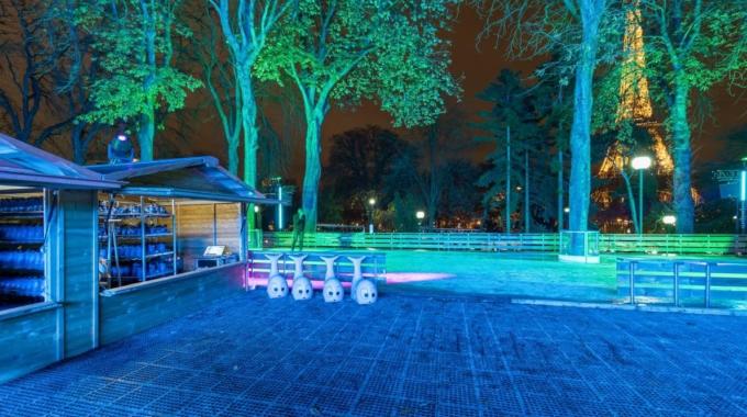 Une nouvelle patinoire s'invite dans les Jardins du Trocadéro