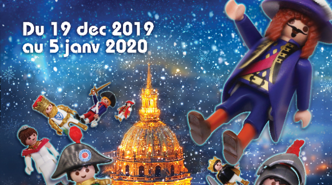 Playmobil s'expose aux Invalides