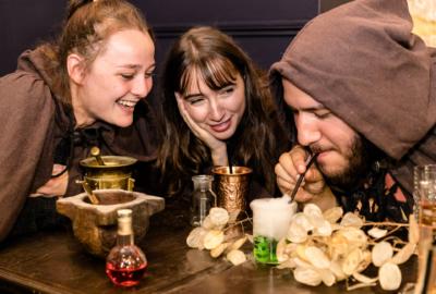 Potions & co: le premier escape bar à Paris