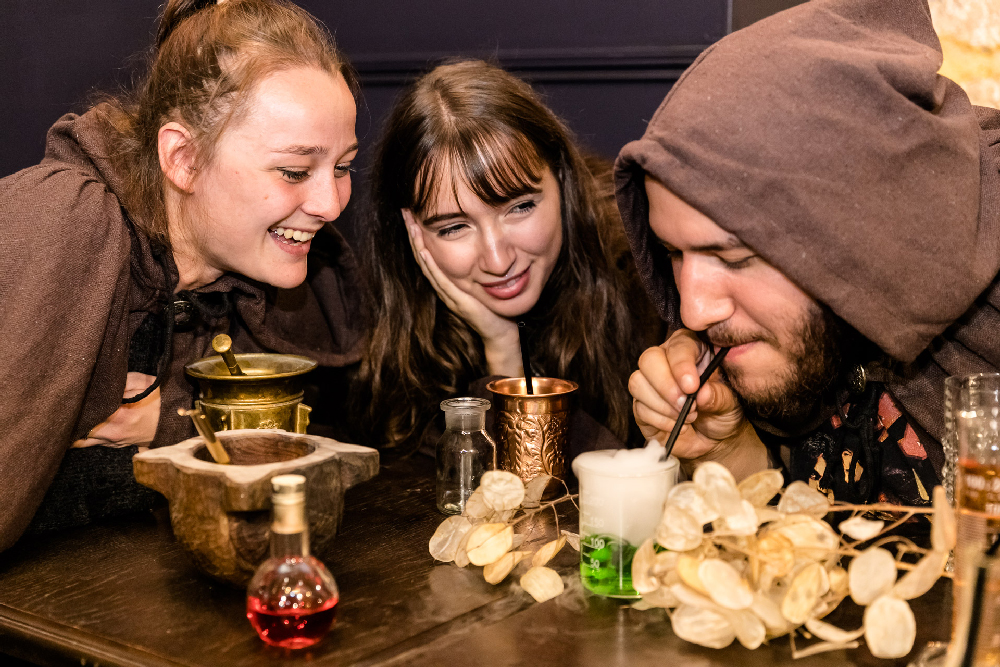 Potions & co: le premier escape bar à Paris