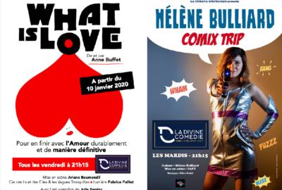 Comix Trip et What is Love à la Divine Comédie