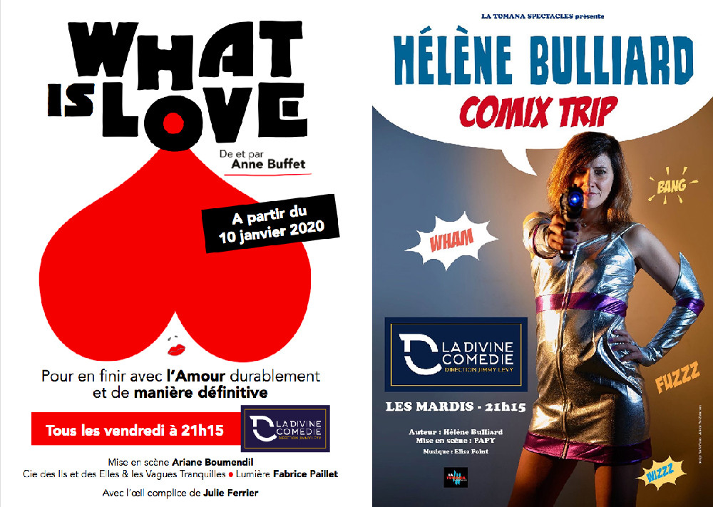 Comix Trip et What is Love à la Divine Comédie