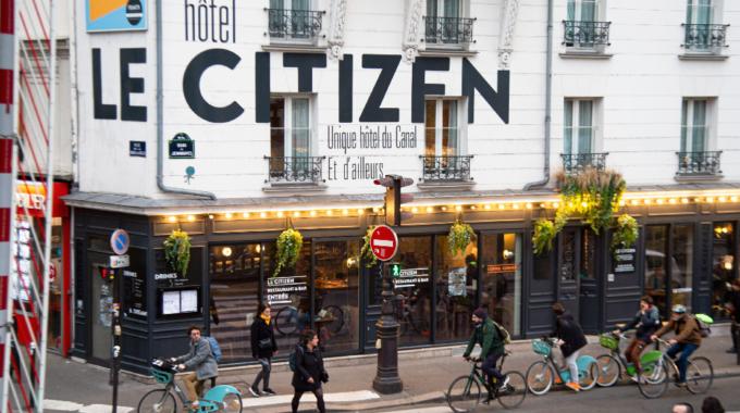 Le Citizen, le bar-restaurant décontracté du canal Saint-Martin