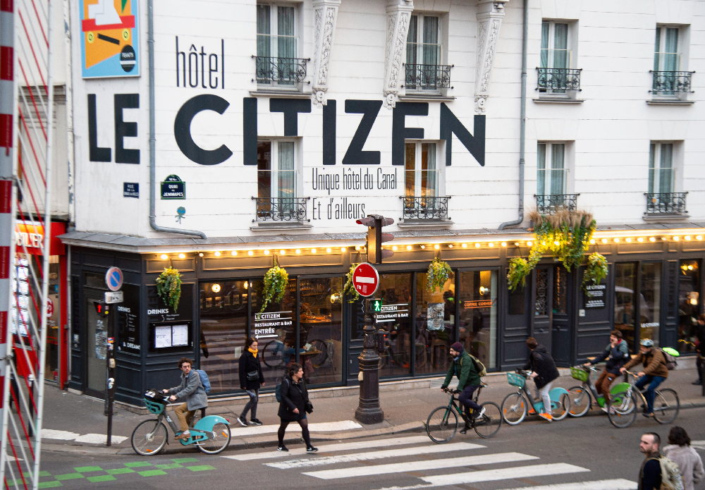 Le Citizen, le bar-restaurant décontracté du canal Saint-Martin