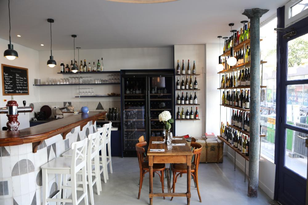 Le P'tit Pinard : cantine de saison et bar à vin